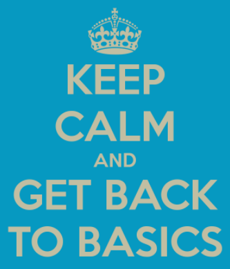 Image result for back to the basics