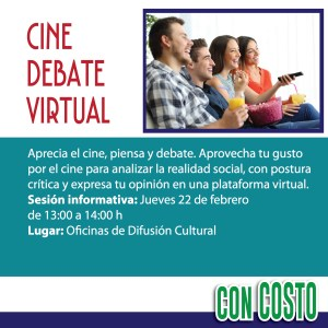 Cine debate virtual