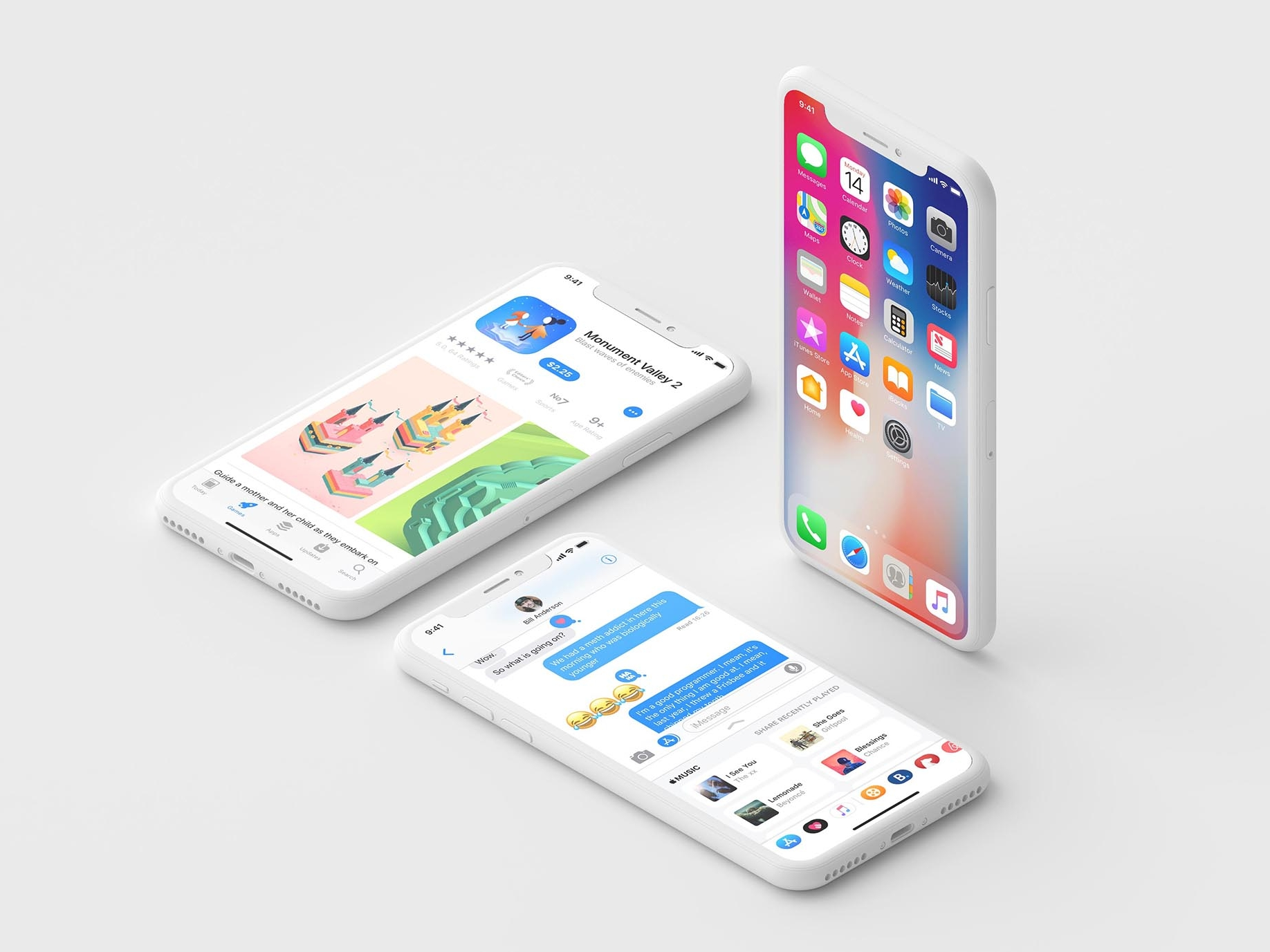 The best iphone x clay mockup you can use to showcase beautiful mobile and web related design concepts on different platforms or for your clients. Free Clay Iphone X Isometric Mockupdiscover The World S Top Designers Creatives Free Psd Ui Download