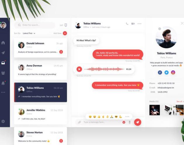 Direct Messaging UI Kit