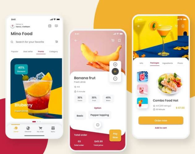 Mino Food App Free