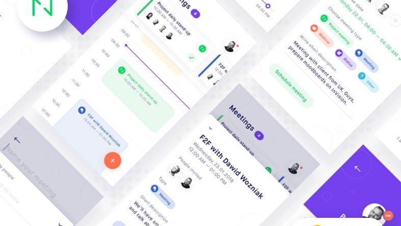 Planguru – Free Mobile UI Kit- uifreebies.net