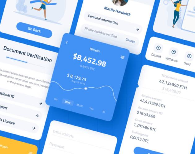 Wallet Crypto UI Kit Free