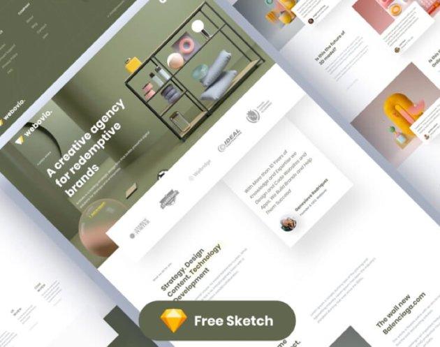 Webovio Agency Website