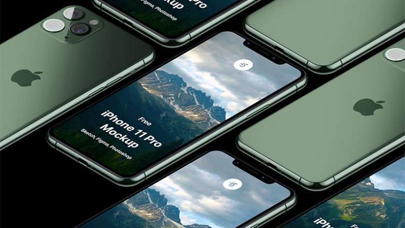 iPhone 11 Pro Mockup Free