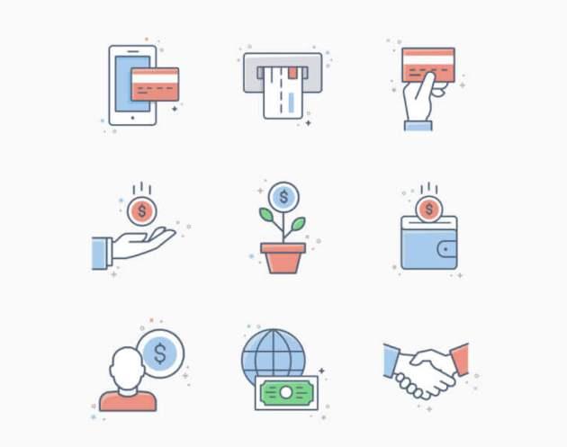 20 Business & Finance Icons- uifreebies.net