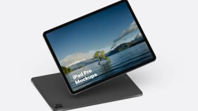 iPad Pro Free Mockup