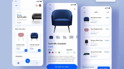 Furniture Ecommerce App Free