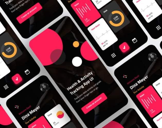 Gym Fitness App Design Free