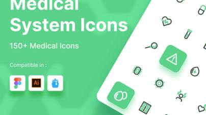 Medical System Icons
