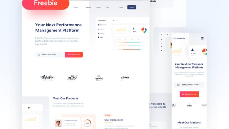 Performance Manager Landing Page