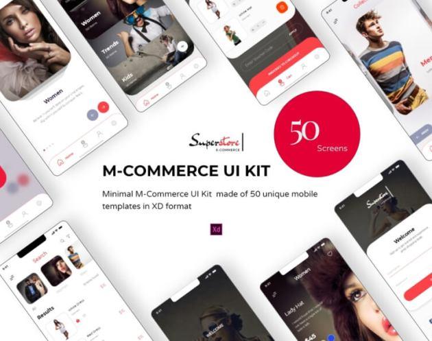 Superstore App UI Kit- uifreebies.net