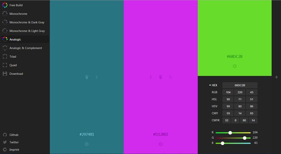 4. Colourco - UI Freebies