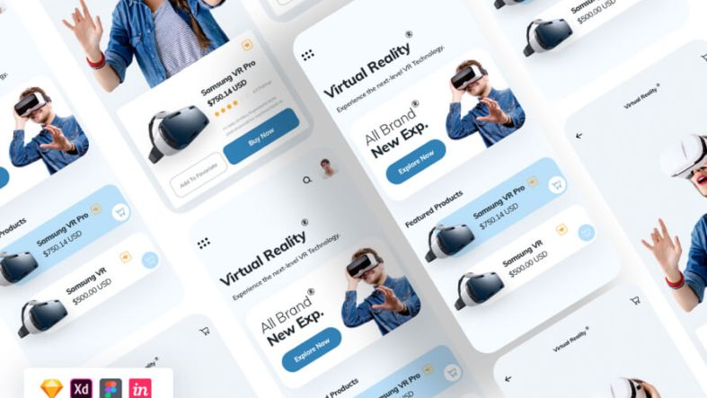 Virtual Reality App Design