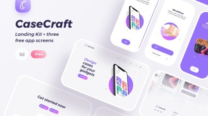 Case Craft UI Kit Free