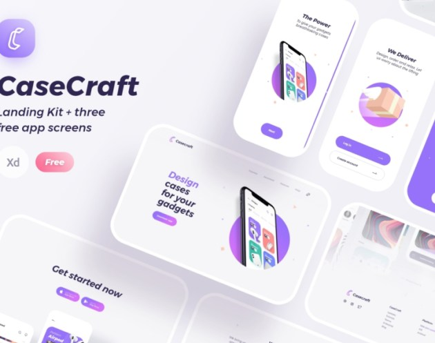 Case Craft UI Kit Free