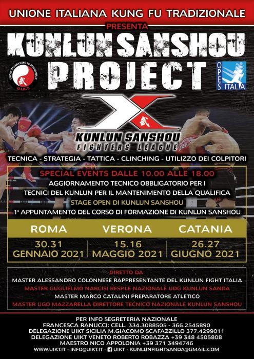 Kunlun Sanda Project UIKT