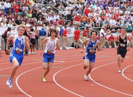 Track Amp Field State Meet University Interscholastic
