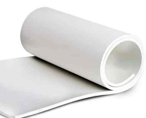 White Neoprene Rubber