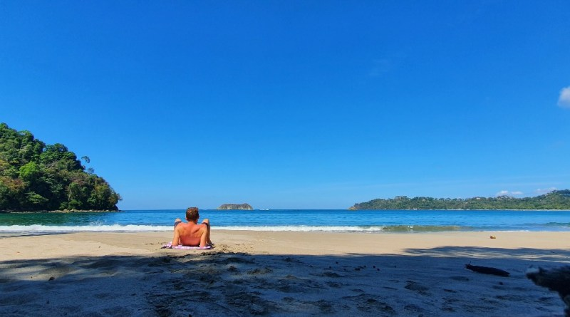 Playa Espadilla Sur, bij natuurpark Manuel Antonio in Costa Rica