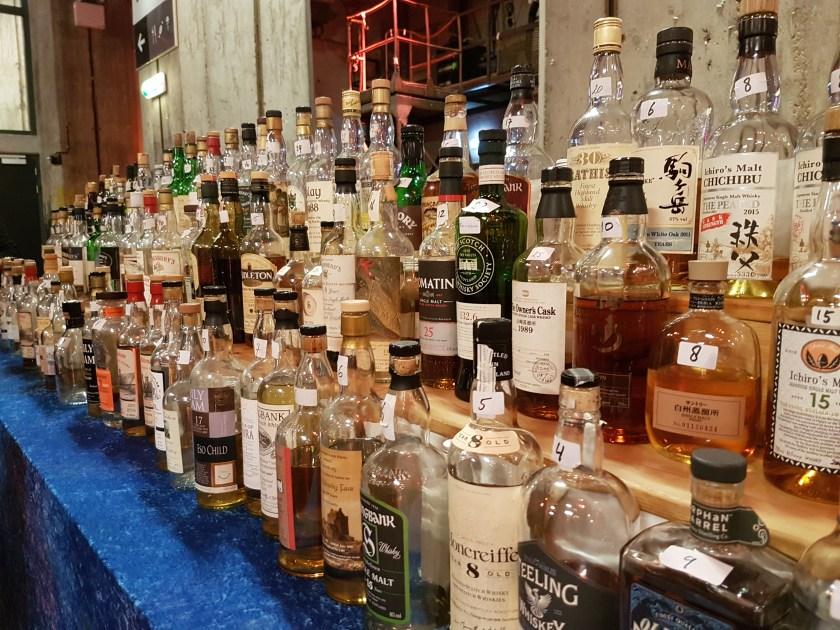 Eindeloze rijen whisky...