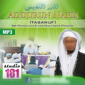 Kitab Ad Durun Nafis Dan Wahdatul Wujud