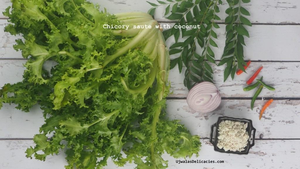 Chicory Coconut Saute