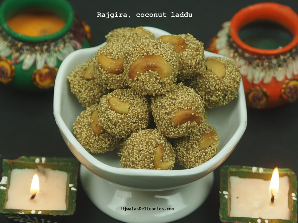 Rajgira Coconut Laddu