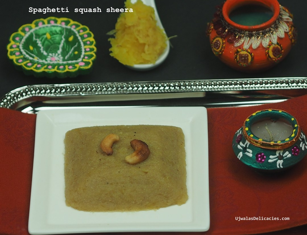 Creamy low carb, low sugar Rava Kesari/Sheera