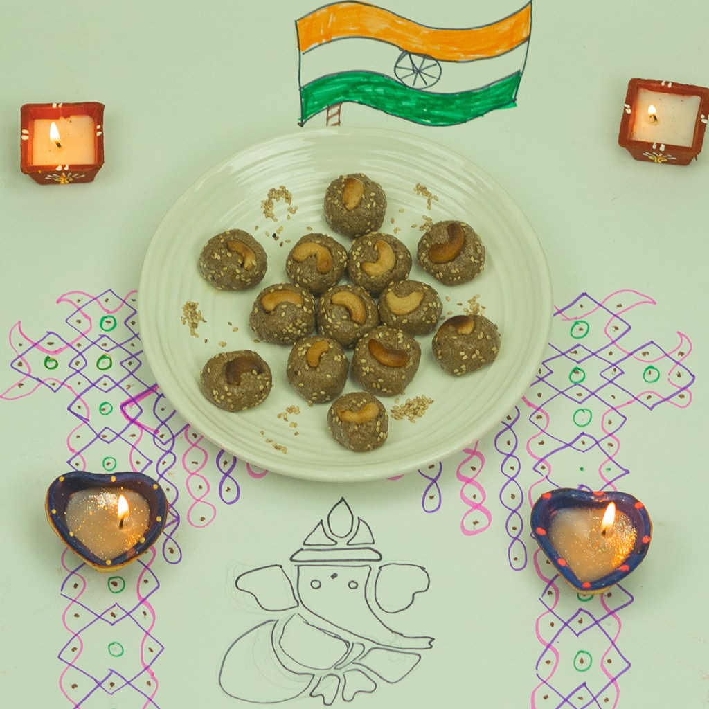 Nuvvulu Almond Laddu