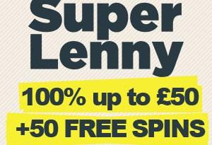 SuperLenny Casino Bonus