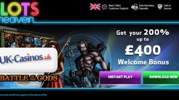 UK Casinos Slots Heaven