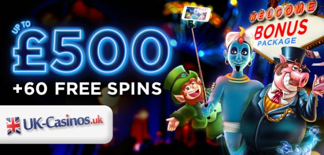 Vegas Spins UK Casino Special Offer: Up to £500 Bonus + 60 Free Spins