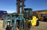 Used 2008 Hyster H10.00 XM (10 ton) Diesel Forklift C/w full cab