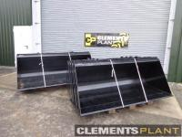 Used JCB Teleporter 1m Buckets (A31)