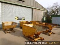 Used Forklift Teleporter Tipping Skips