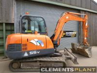 Used Doosan 55V Plus