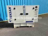 Teksan TJ21PE5C New 19Kva Generator | UK Plant Traders