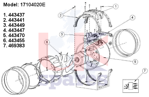 Vent Axia 17104020e Schematic Breakdown