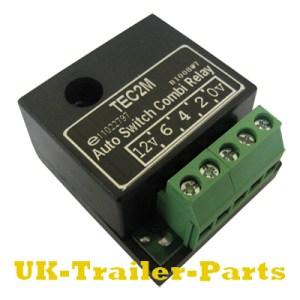 TEC2M Auto Switch Combi Relay wiring diagram | UKTrailerParts