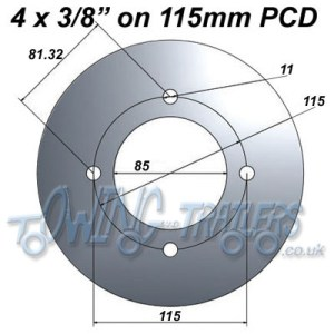 Working out Pitch Circle Diameters (PCD) | UKTrailerParts