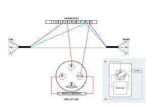 Clipsal 3 Speed Fan Controller Wiring Diagram  Somurich
