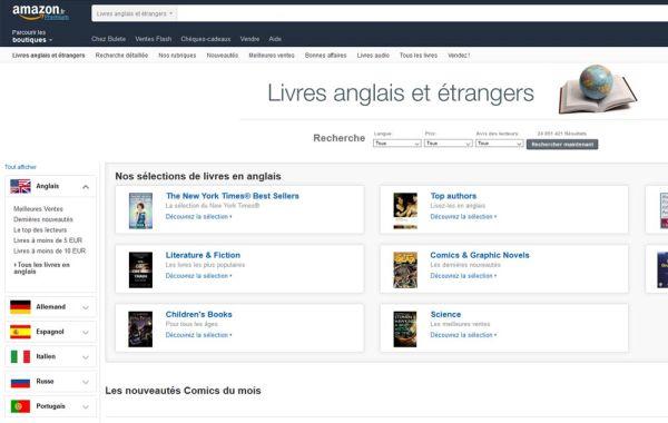 Amazon (livre anglais)