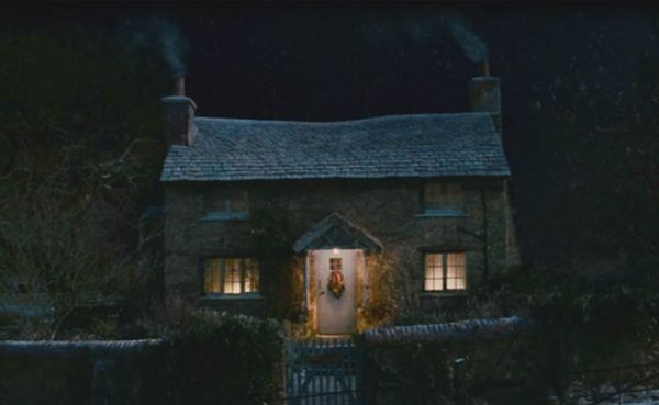 Rosehill Cottage de nuit