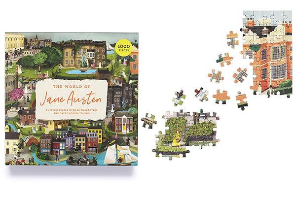 Jane Austen en Puzzel - Idées Cadeaux pour fans de Jane Austen