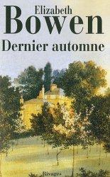 Dernier automne Elizabeth Bowen - Romans Irlandais a lire