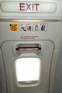 Aeroplane Door Opens In Mid Flight