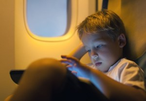 Content Kids on Flight