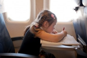 Keep Kids Occupied on the Flight
