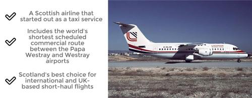 Loganair UK Flight Operator